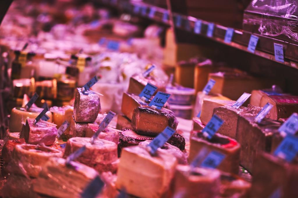 Santa Catalina Markt Kaese
