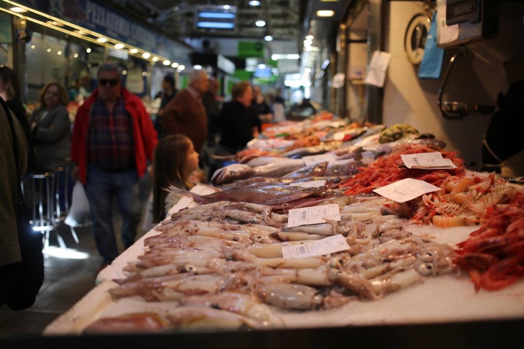 Santa Catalina fisch Markt