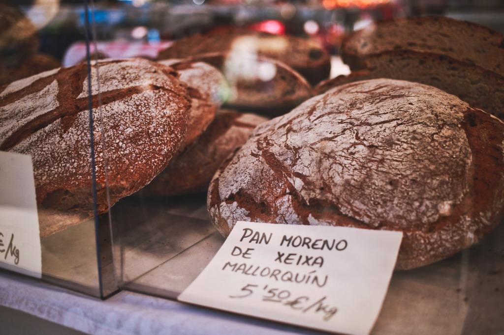 Santa Catalina markt mallorquinisch brot