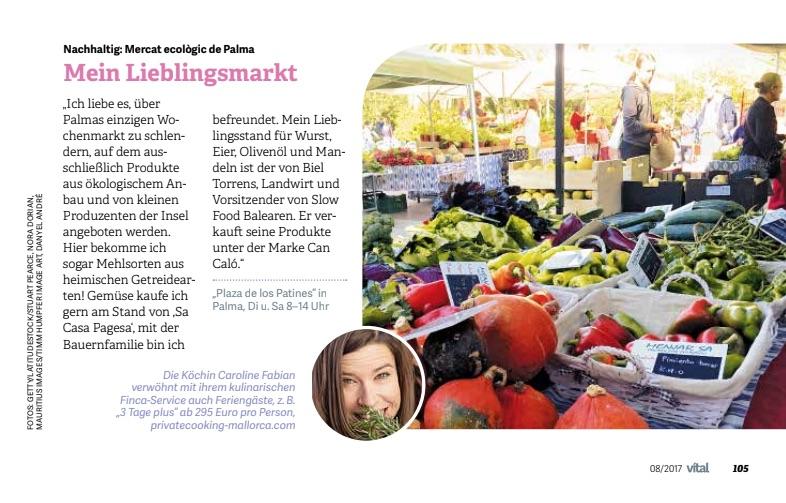Vital Magazin Caroline Fabian