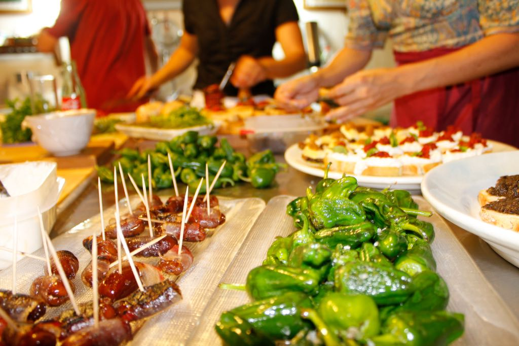 Incentives Cooking Class