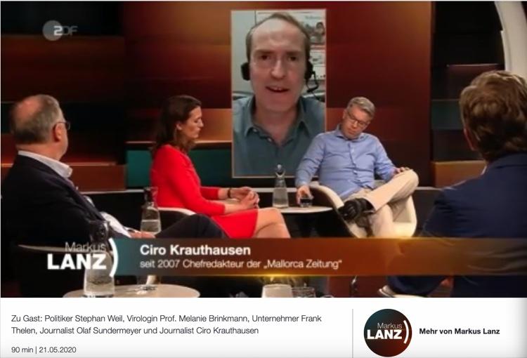 arkus Lanz ZDF mit Ciro Krauthausen